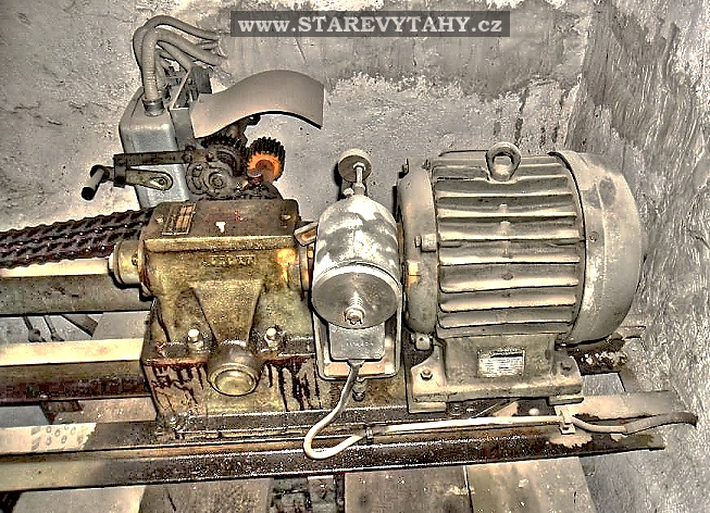 Výtahový stroj v Medlánkách